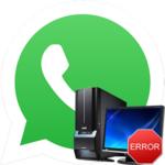 Белый экран в WhatsApp на компьютере — как исправить
