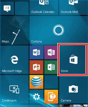 Зайти в магазин Lumia